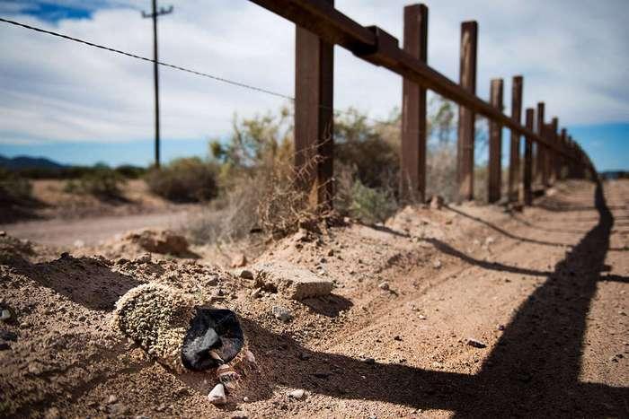 Трамп и его стена на границе с Мексикой