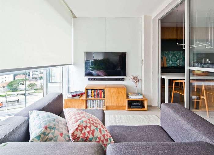 Гибкая планировка квартиры в Сан-Паулу