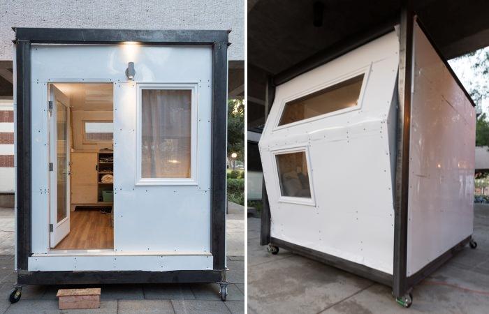 Жилье, которое поможет решить проблему бездомных: модульные домики площадью всего 8,5 кв. метров