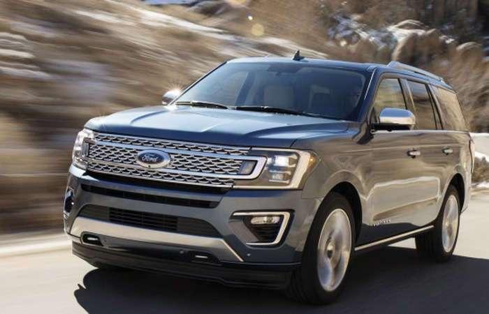Ford выводит на рынок самый большой и самый лёгкий внедорожник