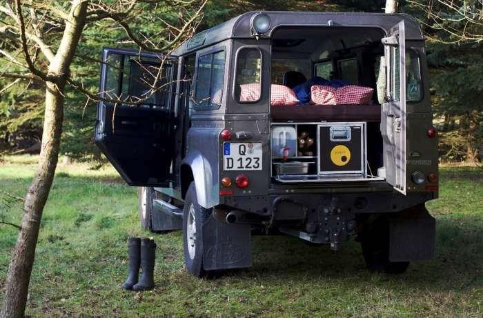Новый Land Rover Defender, который смог стать домом на колесах