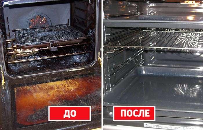 Кухонная магия: как быстро и легко очистить духовку от жира
