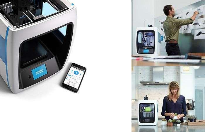 Robo 3D Printer – первый принтер по демократичной цене, который сможет себе позволить каждый