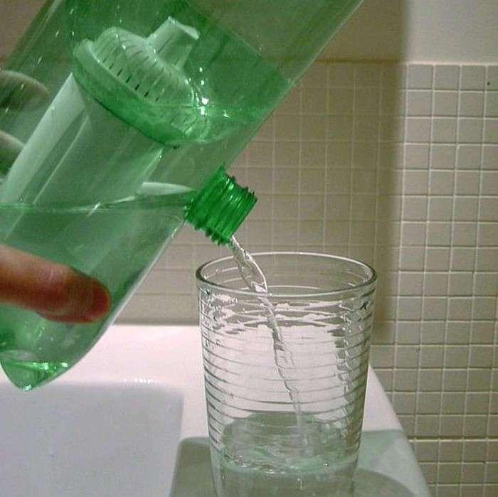 Как сделать портативный фильтр для очистки воды, который легко взять в поход или путешествие