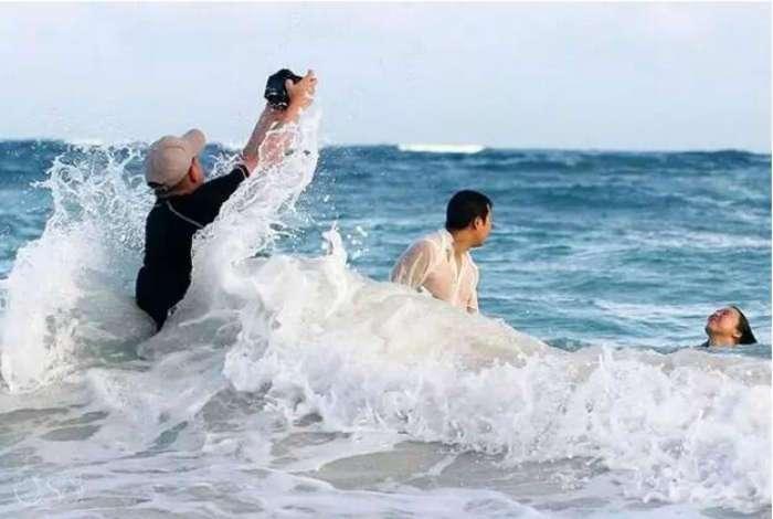 18 уморительных фотографий о прелестях и трудностях работы свадебных фотографов