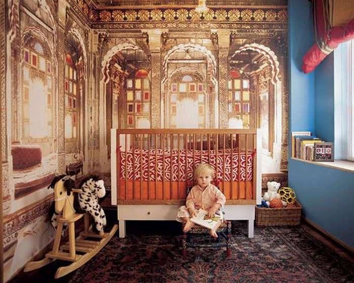 10 неожиданно смелых интерьеров детских комнат от чересчур продвинутых родителей