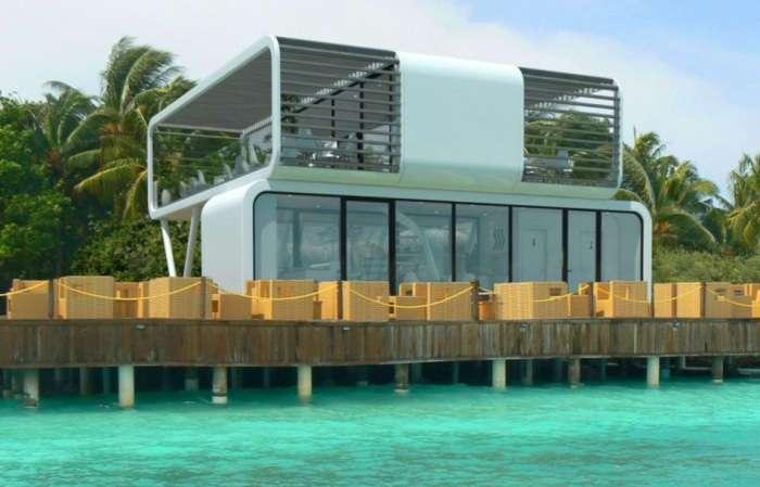 Готовый модульный дом, который пригоден для любого климата
