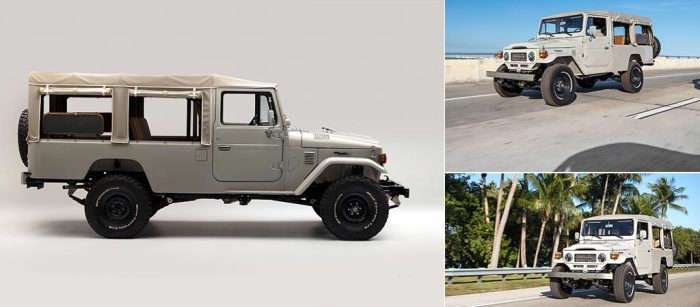 Возвращение легенды: кастомайзеры восстановили Toyota Land Cruiser FJ45 через полвека