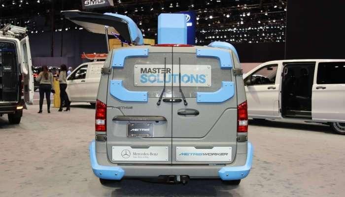 Mercedes-Benz Мetris - ящик инструментов на колёсах с необычной системой открывания двери