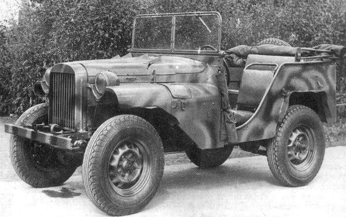 6 легендарных внедорожников времен Второй мировой войны