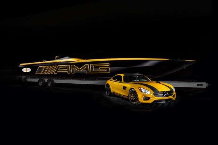Гоночный катер Mercedes-Benz мощностью 3100 л.с. легко -уделает- любой суперкар