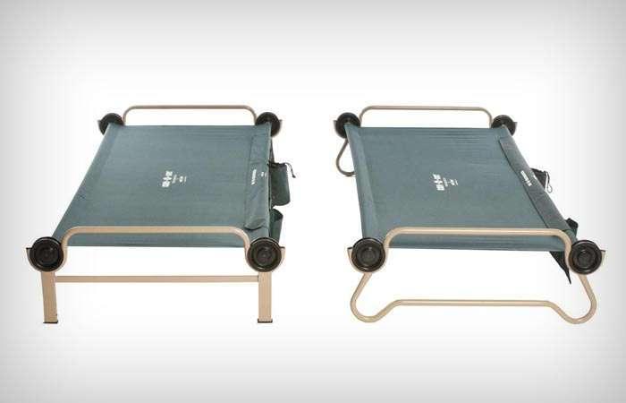 Суперудобная кровать-конструктор, которую можно взять с собой куда угодно