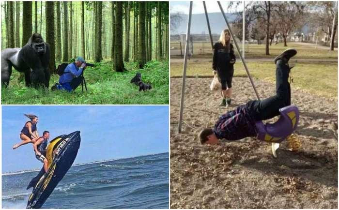 18 курьезных жизненных моментов, удачно запечатленных на снимках