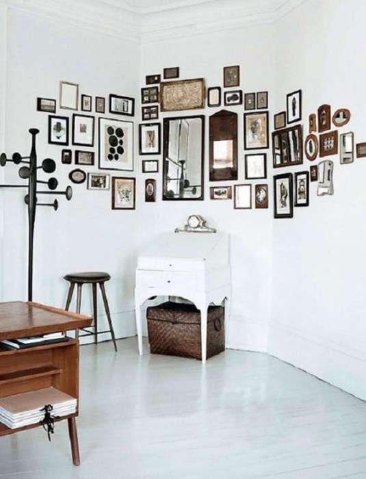 20 креативных и вдохновляющих идей для создания домашней фотогалереи