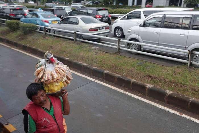 Кадры повседневной жизни в Индонезии