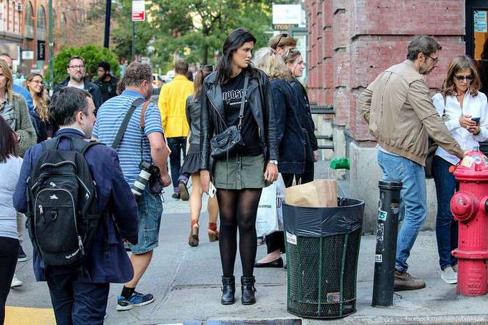 Жители города Нью-Йорка
