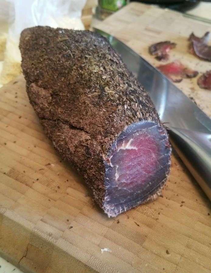 Бреазола &8212; необычный итальянский деликатес (9 фото)