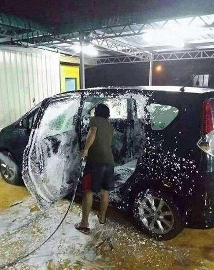 Вот почему лучше ездить на грязном автомобиле
