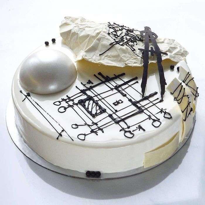 Эти торты слишком красивы, чтобы их есть!