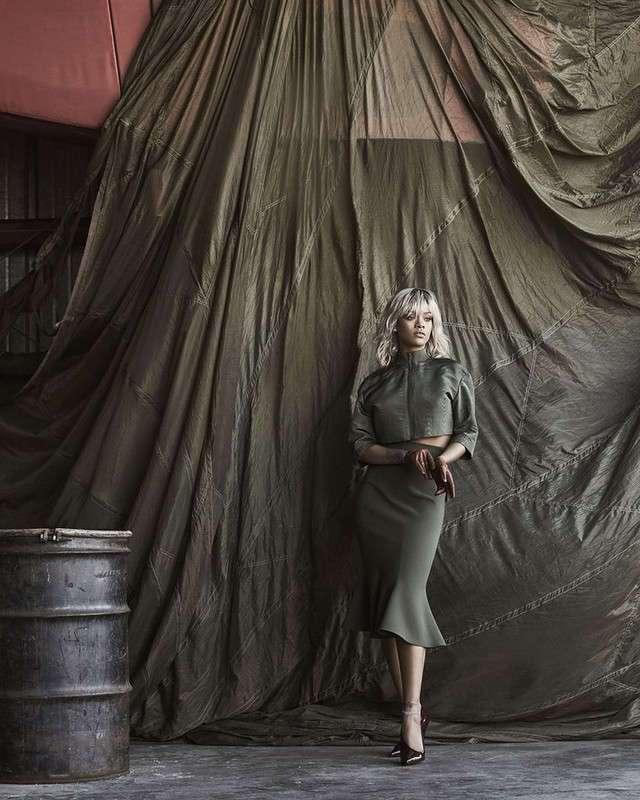 Рианна для US Harper's Bazaar March 2017