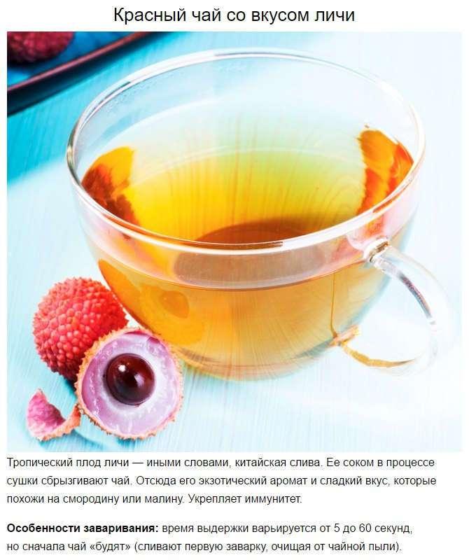 10 сортов чая для настоящих гурманов.