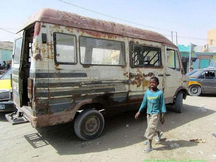 Общественный транспорт в столице Мавритании