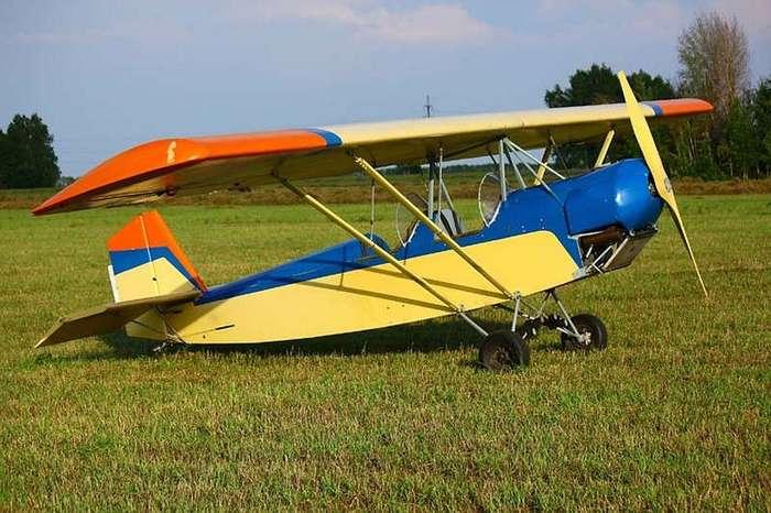 Пенсионер из Новосибирска построил самолет из дерева и даже летал на нем все прошлое лето