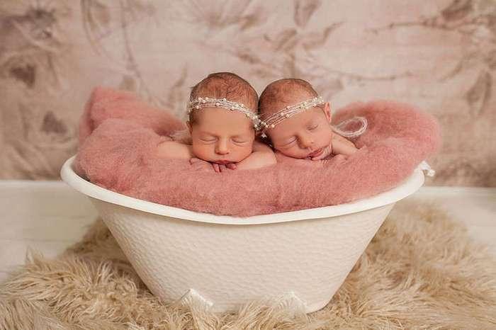 Очарование в квадрате: трогательные фотографии двух пар близнецов