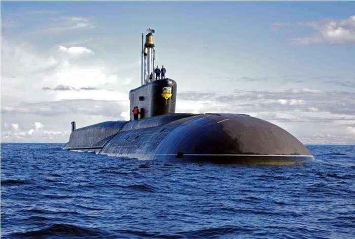 Фотоподборка атомных субмарин России