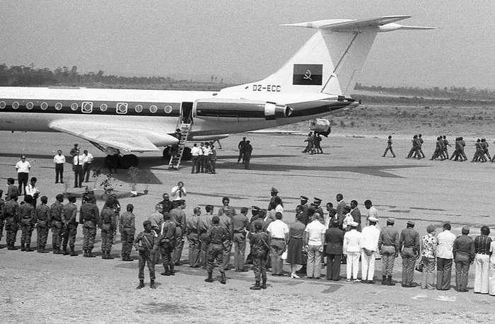 Секретная миссия в Анголе