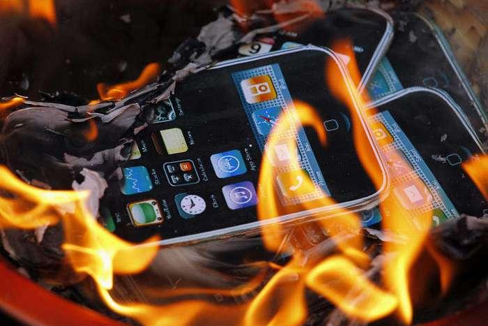 Самоуничтожающиеся смартфоны могут стать реальностью