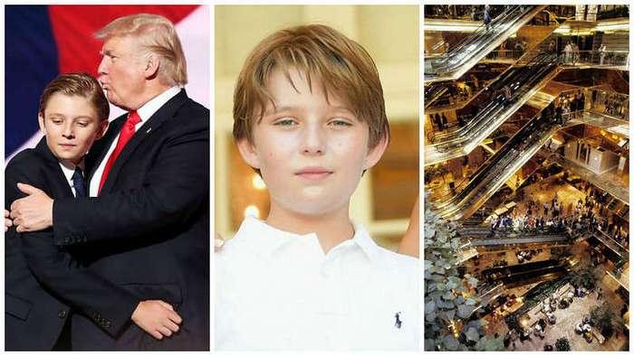 15 неизвестных фактов о жизни ребенка-миллиардера Бэррона Трампа