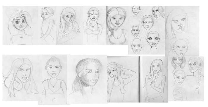 Графический дизайнер полгода оттачивал мастерство рисования - и мы покажем его прогресс