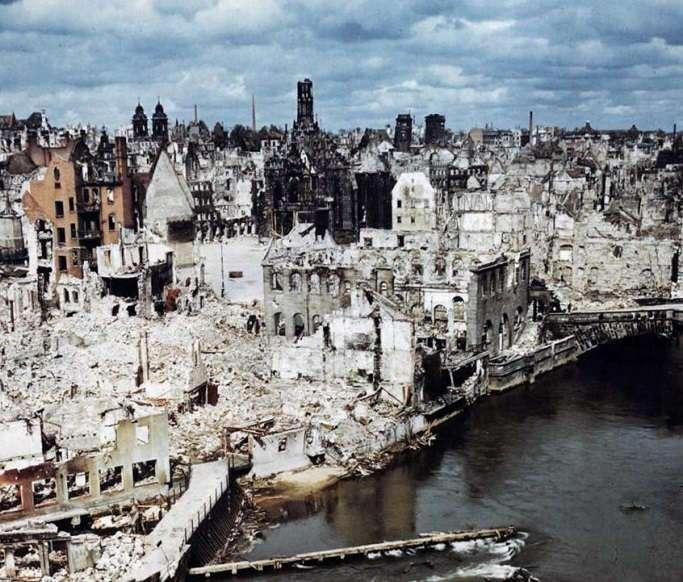 Как Германию восстанавливали после войны