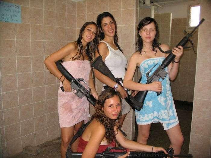 Дамы и оружие. Лёд и пламень )