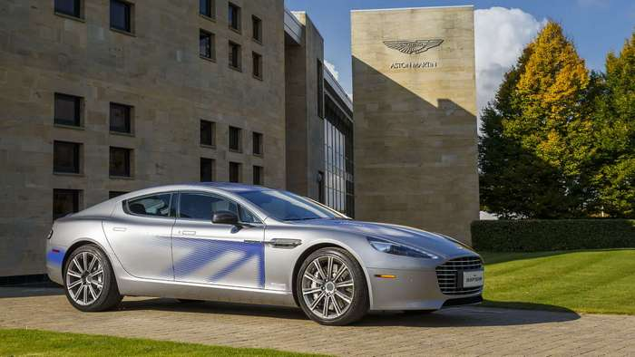 Электрический Aston Martin сотсавит конкуренцию Tesla Model S