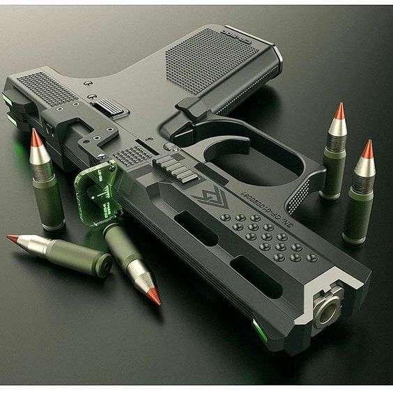 Пост брутального оружия