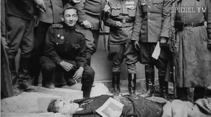 Что произошло с останками Гитлера?