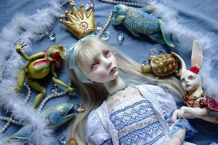 Странные куклы Мари Shimizu