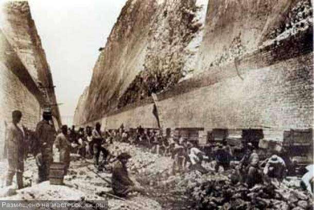 История Коринфского канала
