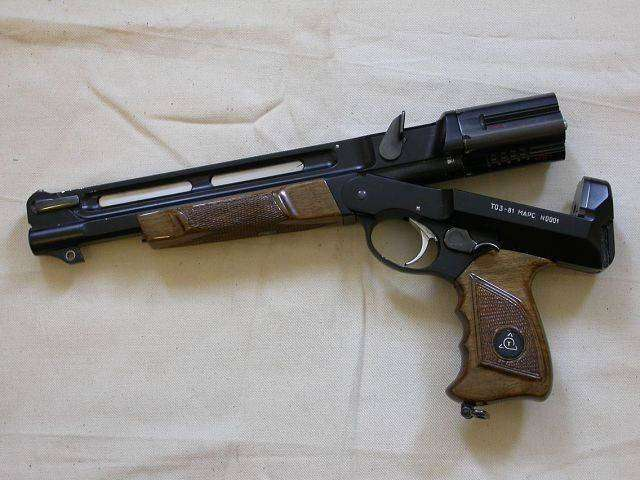 Специальный револьвер ТОЗ-81 -Марс-