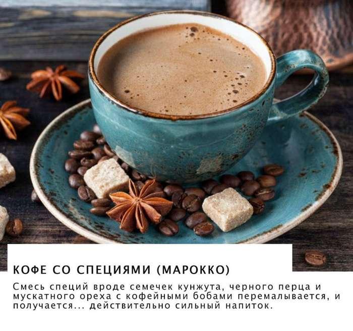 Как выглядит чашка кофе в разных странах мира.