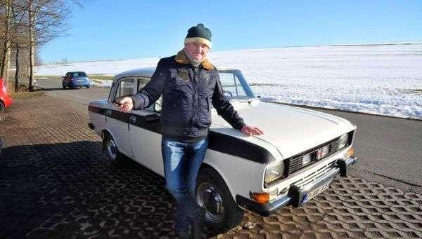 Немецкий пенсионер проехал на советском -Москвиче- 1 млн километров за 40 лет
