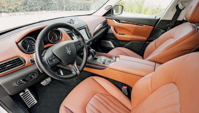 Maserati Levante: первый внедорожник итальянской фирмы