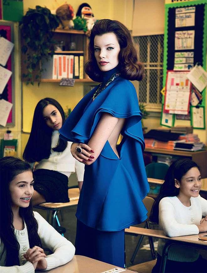 Девять самых сексуальных учительниц в глянце