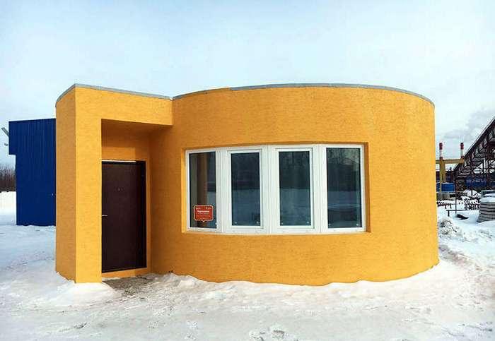Первый в России дом, напечатанный на 3D-принтере
