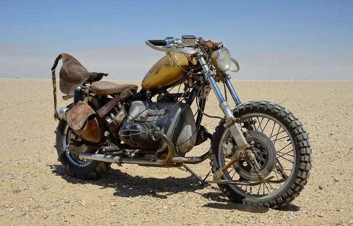 Брутальные мотоциклы в стиле стимпанк