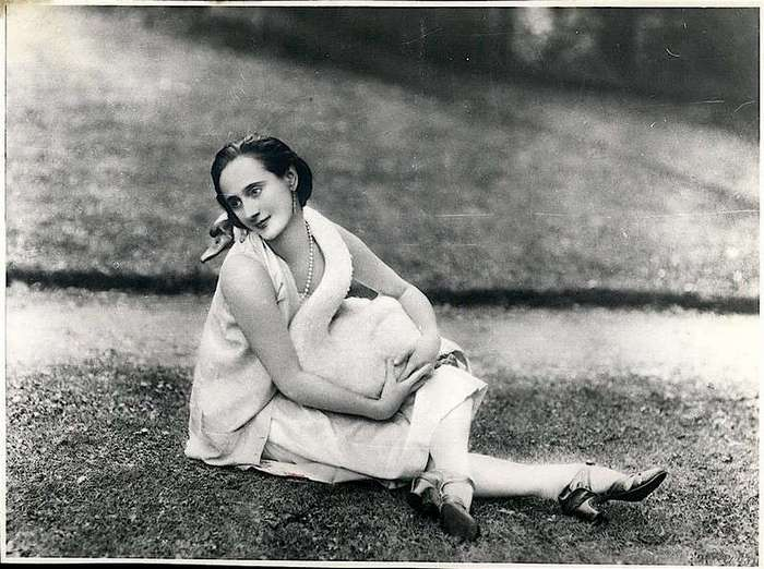 Anna Pavlova и ее лебедь