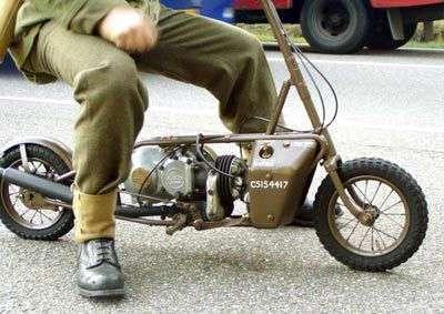 Десантные мотоциклы Второй мировой