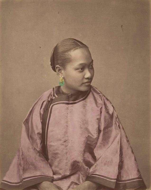 Эти раскрашенные фото показывают, как выглядели жители Китая в 1875 году